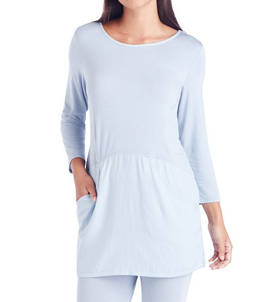 Carole Hochman Midnight Breezy Long PJ set 1391306