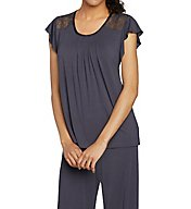 Carole Hochman Midnight Garden Long PJ Set 1391403