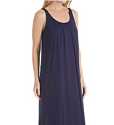 Carole Hochman Midnight Sapphire Maxi Gown with Shelf Bra MD01552
