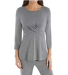 Carole Hochman Midnight Long Sleeve Long PJ Set MD91553