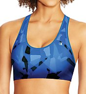 Champion The Absolute Comfort SmoothTec Printed Sports Bra B9504P