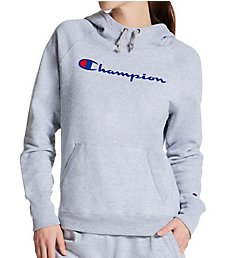 Champion Powerblend Fleece Graphic Pullover Hoodie GF934Y