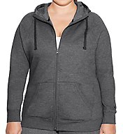 Champion Plus Size Fleece Full Zip Hoodie Jacket QJ4853