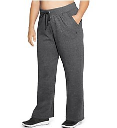 Champion Plus Size Fleece Front Pocket Open Bottom Pant QM4854