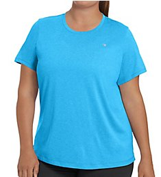 Champion Vapor Plus Size Heather Short Sleeve Fresh IQ Tee QW0982