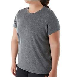 Champion Vapor Plus Size Heather Short Sleeve Fresh IQ Tee QW0982