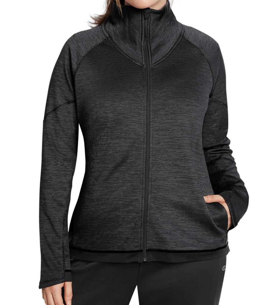 Champion Tech Fleece Plus Size Duofold Warm CTRL Jacket QW1039