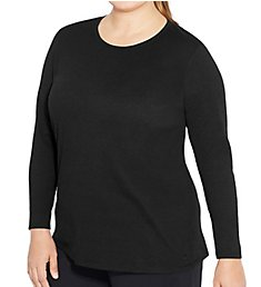 Champion C Vapor Plus Size Long Sleeve X-Temp Tee QW2913