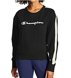 Champion Heritage Fleece Crew Neck Pullover with Taping W43755
