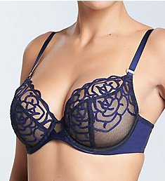 Chantelle Luxembourg Lace Plunge Underwire Bra 2911A