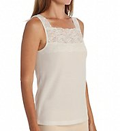 Cuddl Duds SofTech Wide Stretch Lace Tank 8312042