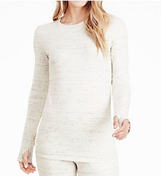 Cuddl Duds Comfortwear Long Sleeve Crew Neck Shirt 8319674