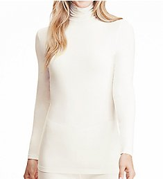 Cuddl Duds Softwear with Stretch Long Sleeve Turtleneck 8719616
