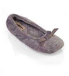Dearfoams Layla Chenille Ballerina 31038