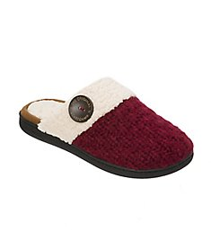 Dearfoams Textured Knit Closed Toe Scuff Slipper 50611
