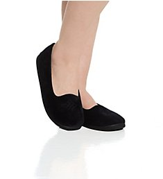 Dearfoams Rebecca Microfiber Velour Closed Back Slipper 51701