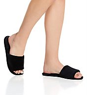 Dearfoams Microfiber Velour Slide Slipper 51706