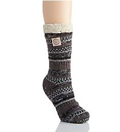 Dearfoams Fairisle Blizzard Sock 60522