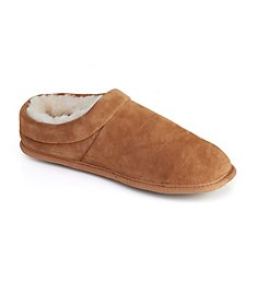 Dearfoams Suede Quilted Clog With Memory Foam 80269