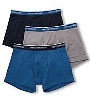 Emporio Armani Pop Color Stretch Cotton Boxer Briefs - 3 Pack 4737P717