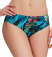 Fantasie Seychelles Mid Rise Gathered Brief Swim Bottom FS6107