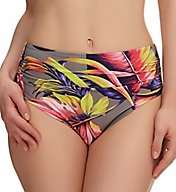 Fantasie Kuramathi Mid Rise Deep Gathered Brief Swim Bottom FS6119
