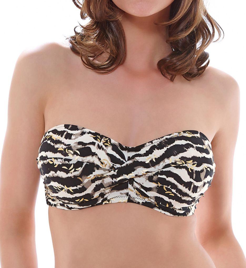 Fantasie Milos Underwire Twist Bandeau Bikini Swim Top FS6136