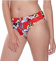 Fantasie Calabria Mid Rise Brief with Rings Swim Bottom FS6260