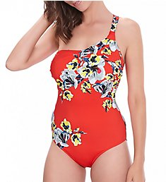 Fantasie Calabria Underwire Asymmetric One Piece Swimsuit FS6263