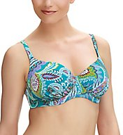 Fantasie Viana Underwire Gathered Full Cup Bikini Swim Top FS6265