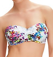 Fantasie Agra Underwire Twist Front Bandeau Swim Top FS6322