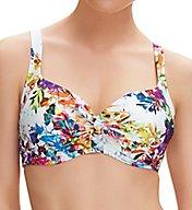 Fantasie Agra Underwire Tie Front Balcony Bikini Swim Top FS6323