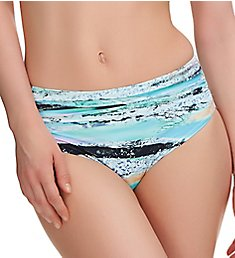 Fantasie Kiruna Deep Gathered Mid Rise Brief Swim Bottom FS6338