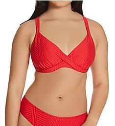 Fantasie Long Island Underwire Plunge Wrap Bikini Swim Top FS6900