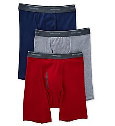 Fruit Of The Loom Coolzone Assorted Boxer Briefs - 3 Pack 3BL761C