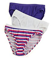 Fruit Of The Loom Ladies Cotton Bikini Panty - 3 Pack 3DBIKAS