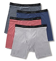 Fruit Of The Loom Beyond Soft Extended Size Boxer Briefs - 4 Pack 4BBCBSX