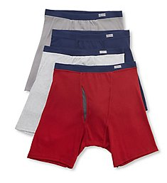 Fruit Of The Loom Coolzone Extended Size Boxer Briefs - 4 Pack 4CBLXTG
