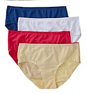 Fruit Of The Loom Breathable Mesh Assorted Low Rise Brief - 4 Pack 4DBLRB1
