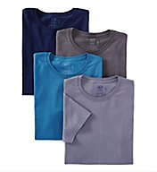 Fruit Of The Loom Stay Tucked Cotton Crew T-Shirt - 4 Pack 4P2801C