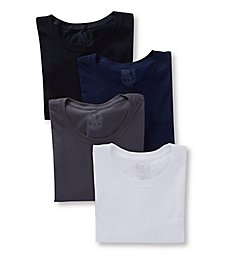 Fruit Of The Loom Extended Size 100% Cotton Pocket T-Shirts - 4 Pack 4P30BGX