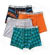 Fruit Of The Loom Big Man Assorted Short Leg Boxer Briefs - 4 Pack 4SL469X