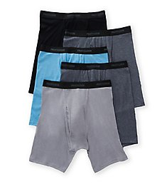 Fruit Of The Loom Beyond Soft Assorted Boxer Briefs - 5 Pack 5BB7CBS