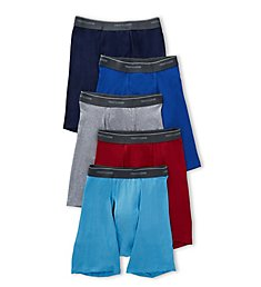 Fruit Of The Loom Coolzone Assorted Boxer Briefs - 5 Pack 5BL761C