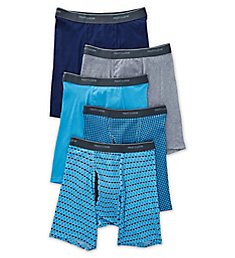 Fruit Of The Loom Coolzone Print Assort Boxer Briefs - 5 Pack 5BL77PS