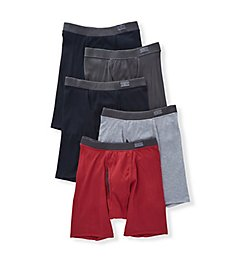 Fruit Of The Loom Coolzone Covered Waistband Boxer Briefs - 5 Pack 5CBL001