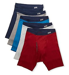 Fruit Of The Loom Coolzone Boxer Briefs with Fly - 5 Pack 5CBL1TG