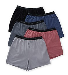 Fruit Of The Loom Beyond Soft Knit Boxers - 5 Pack 5P722BS