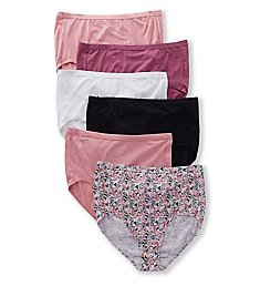 Fruit Of The Loom Fit For Me Plus Comfort Brief Panties - 6 Pack 6DCCB2P