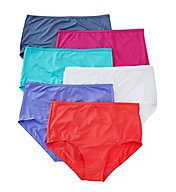 Fruit Of The Loom Assorted Brief Panties - 6 Pack 6DMF201